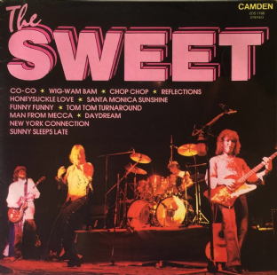 Sweet (The) - The Sweet (LP) (VG/G++)